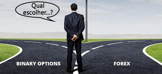 Opções Binárias vs FOREX – Opinião