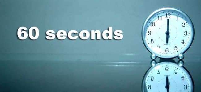 negociar em 60 segundos