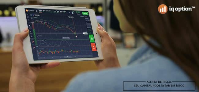 trader usando itm para ganhar na plataforma iq option