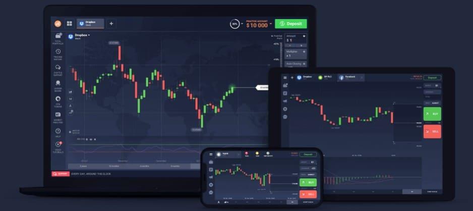 As plataformas em dispositivos diferentes