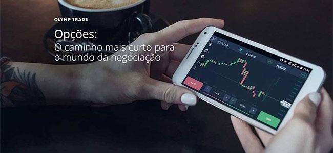 plataforma celular Olymp Trade