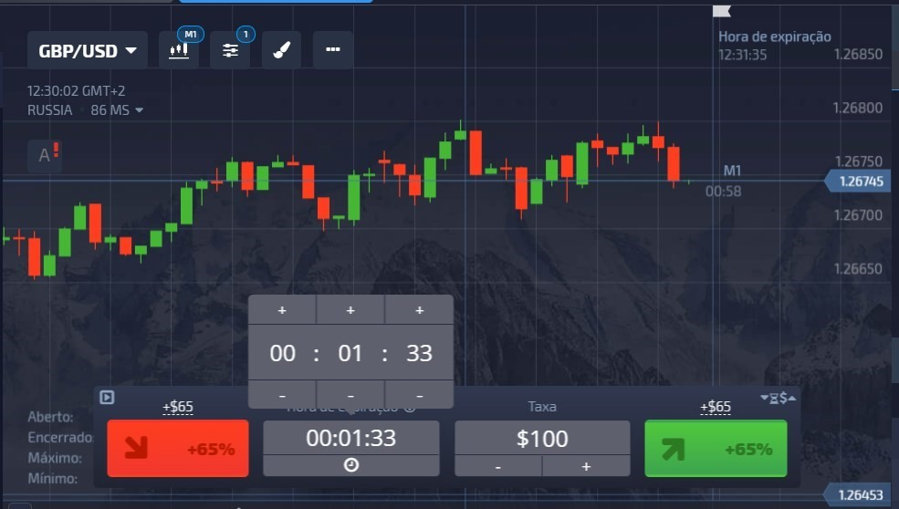 trading rápida pocket option
