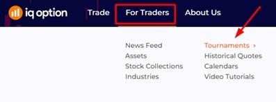 Torneios da IQ Option traders